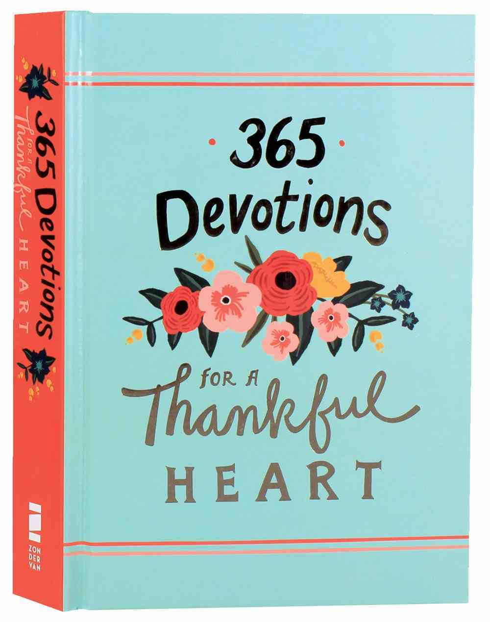 365 Devotions For a Thankful Heart Hardback