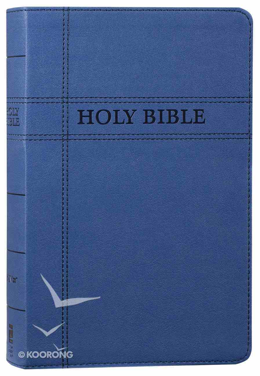 NIV Premium Gift Bible Navy (Red Letter Edition) Premium Imitation Leather