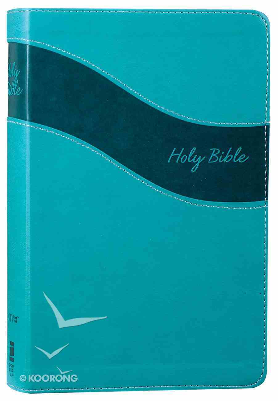 NIV Premium Gift Bible Blue (Red Letter Edition) Premium Imitation Leather