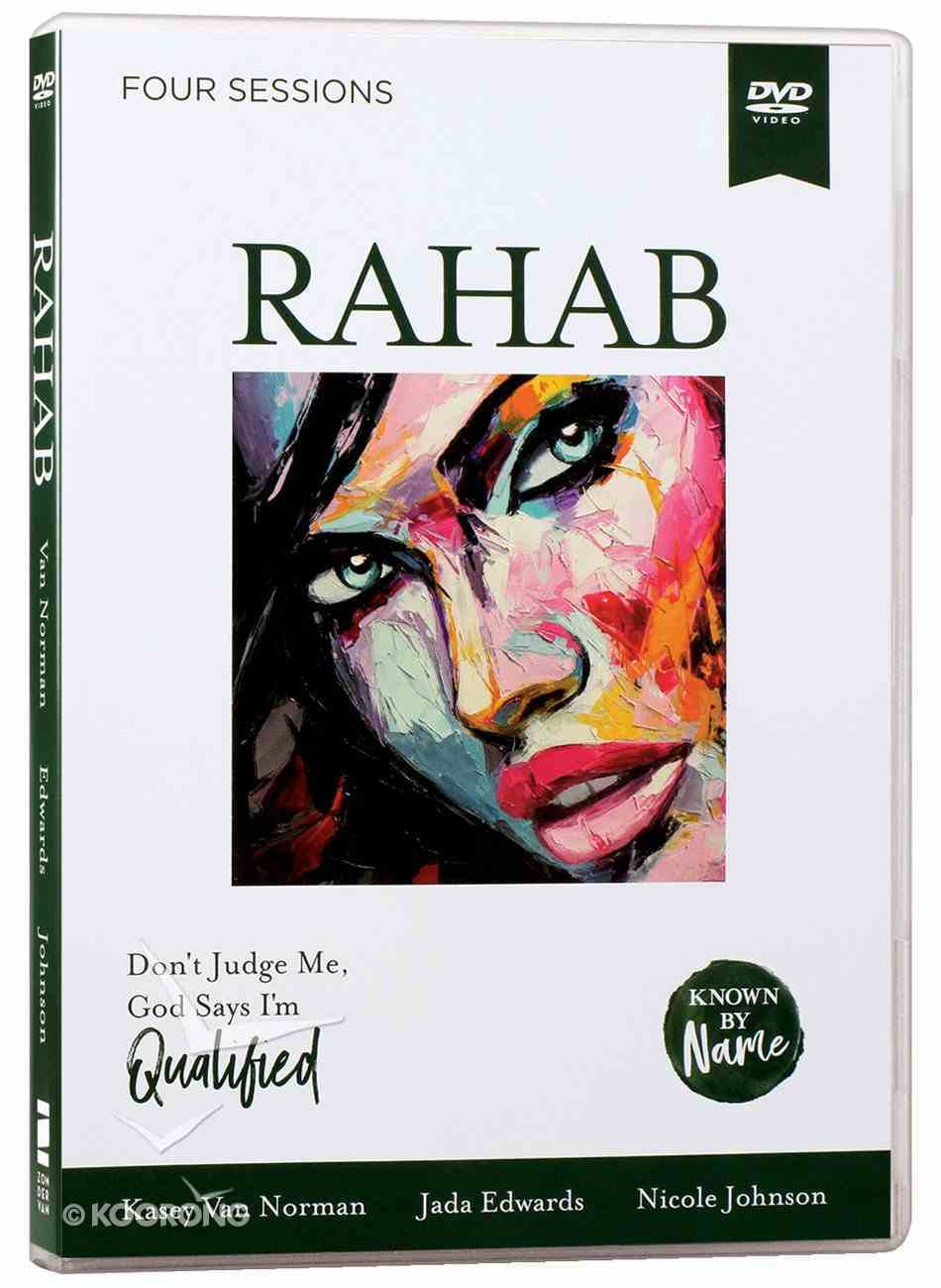 Rahab : Don't Judge Me; God Says I'm Qualified (DVD Study) (Known By Name Series) DVD