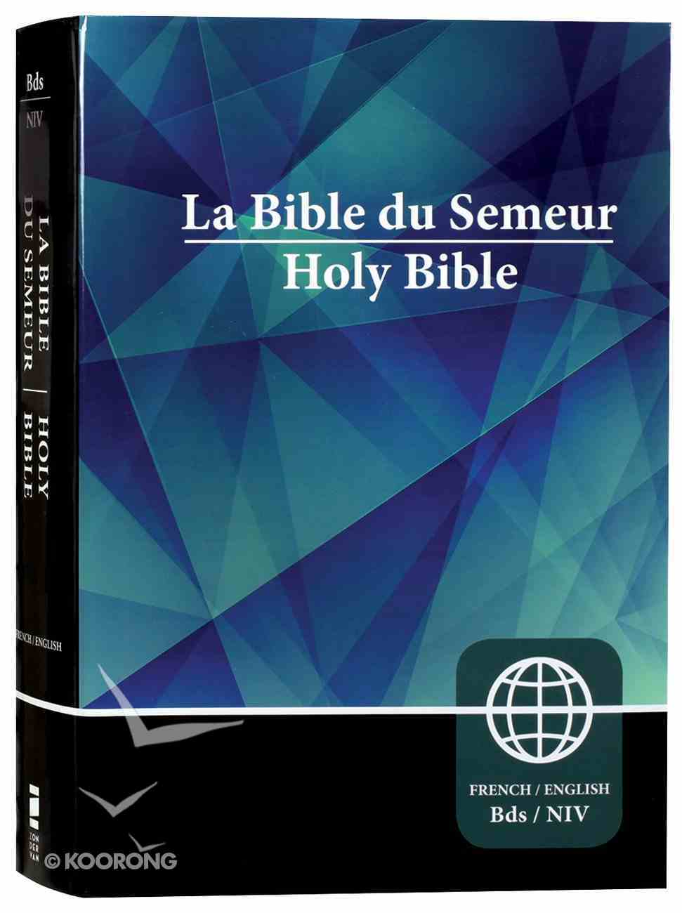Semeur/Niv French/English Bilingual Bible (Black Letter Edition) Hardback
