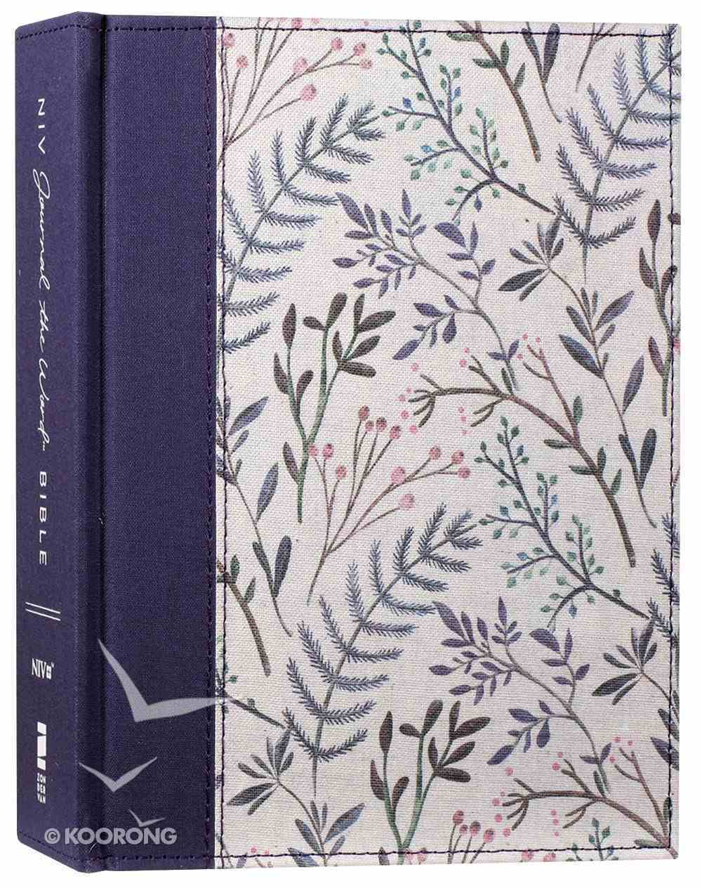 NIV Journal the Word Bible Pink Floral (Red Letter Edition) Hardback