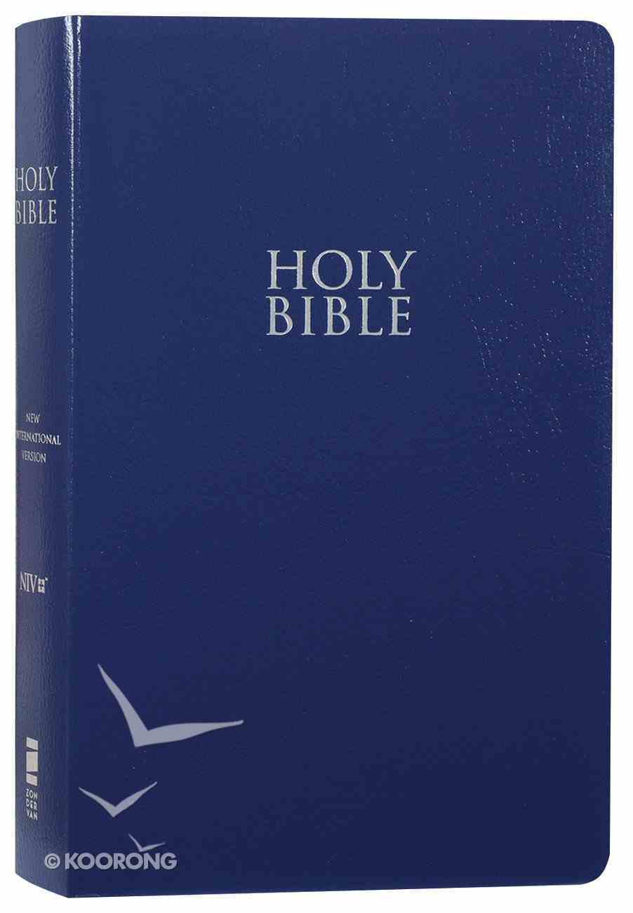 NIV Gift and Award Bible Blue (Red Letter Edition) Imitation Leather
