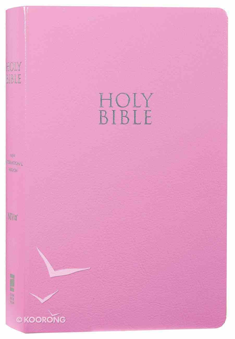 NIV Gift and Award Bible Pink (Red Letter Edition) Imitation Leather