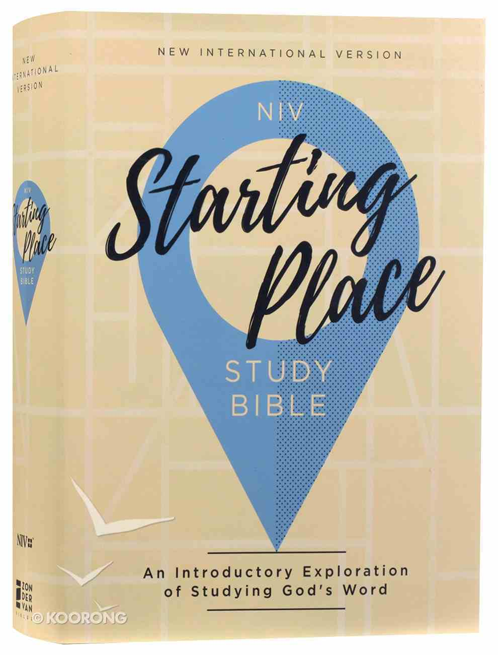 NIV Starting Place Study Bible Hardback