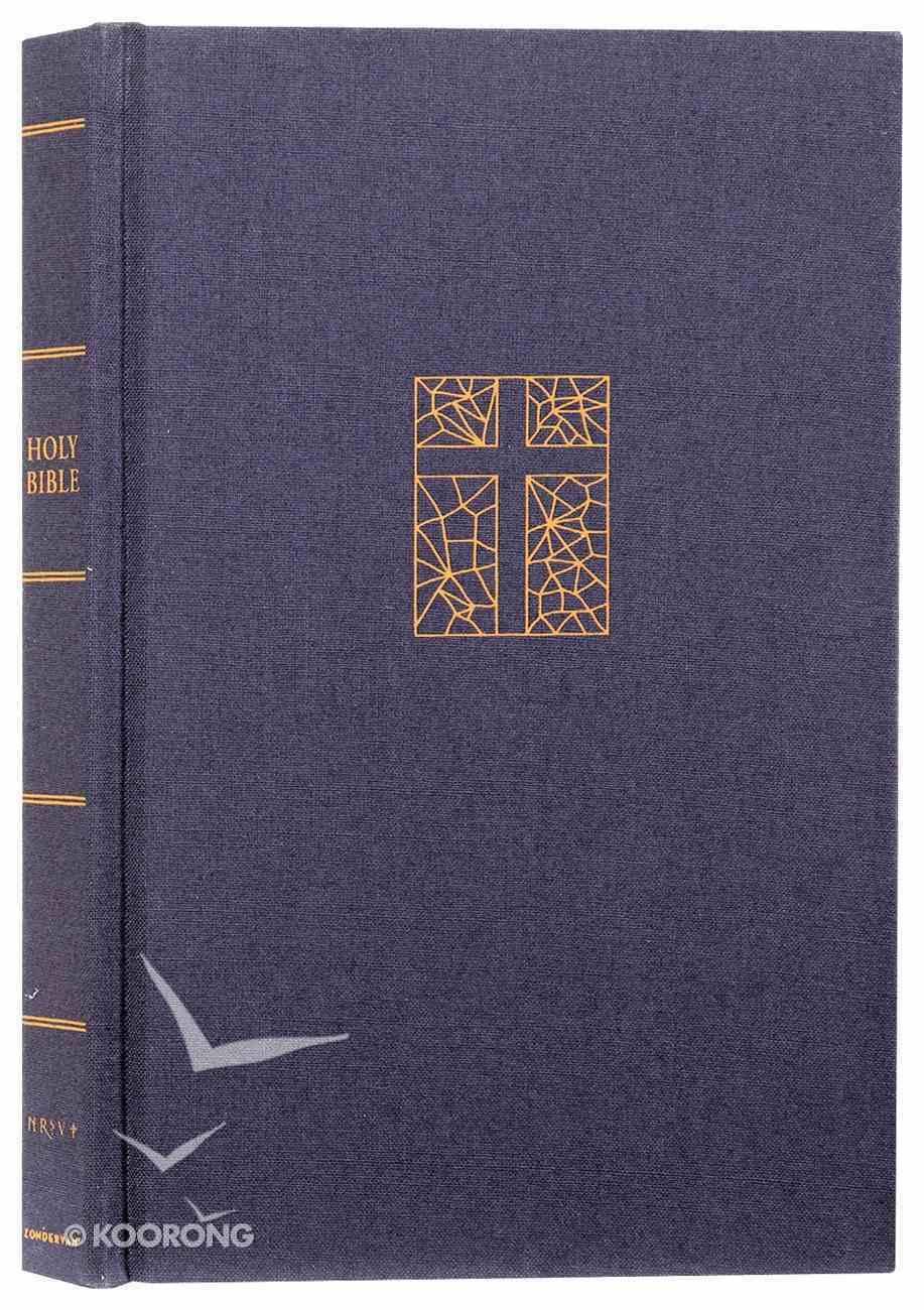NRSV Thinline Bible Navy Hardback