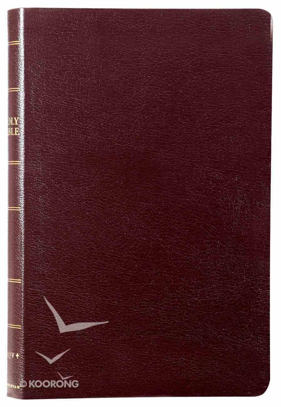 NRSV Thinline Bible Burgundy Bonded Leather
