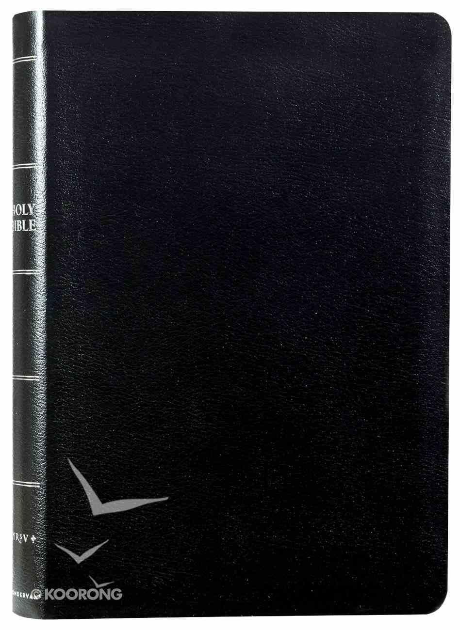 NRSV Thinline Bible Large Print Black Bonded Leather