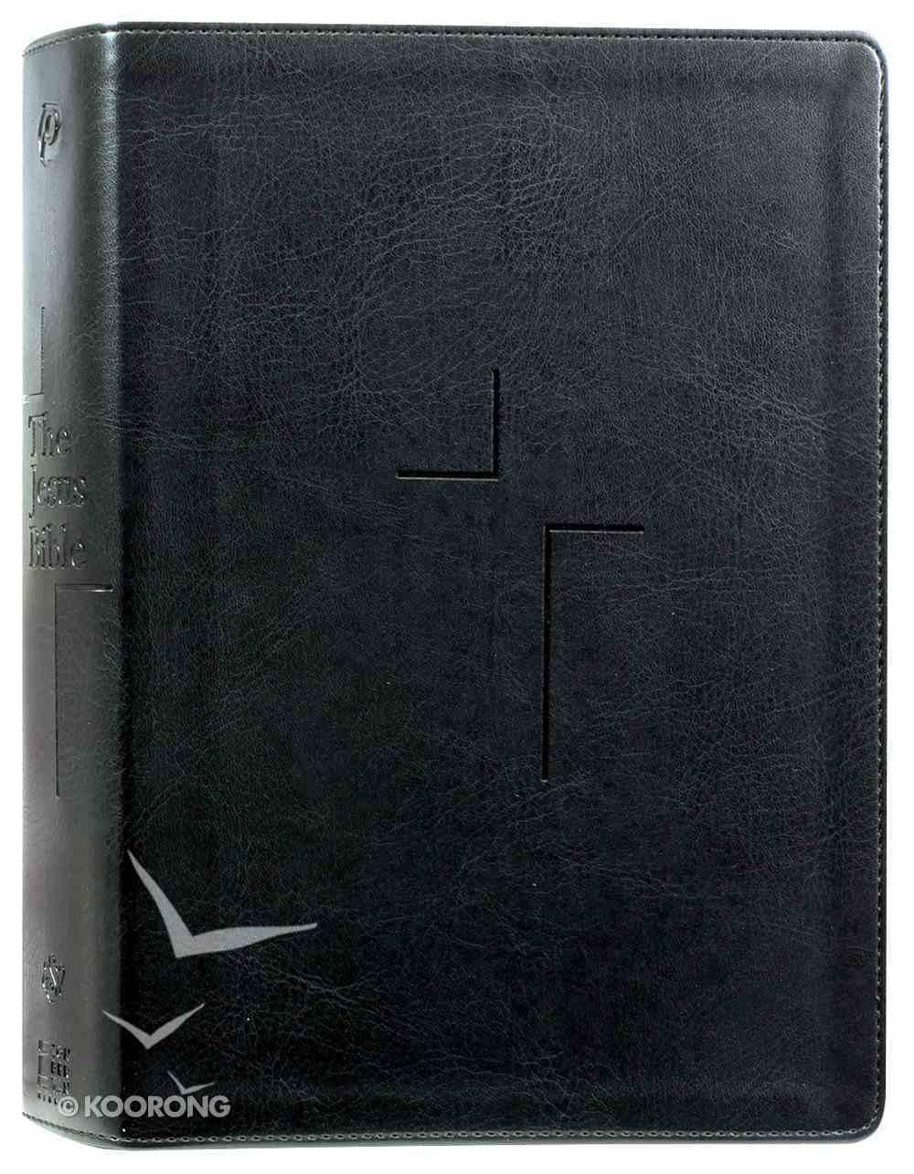 ESV the Jesus Bible Black Premium Imitation Leather