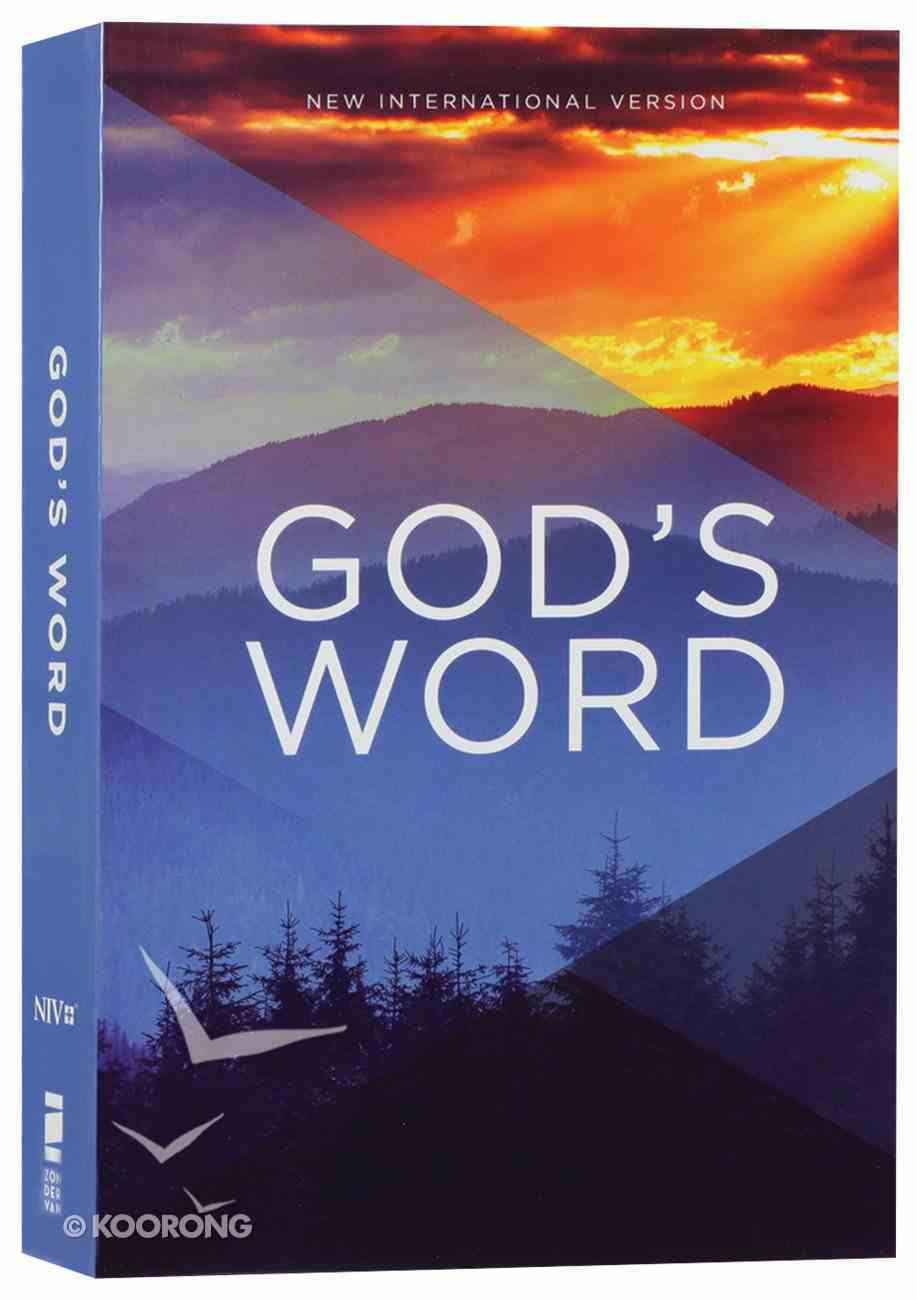 NIV Value Outreach Bible God's Word (Black Letter Edition) Paperback