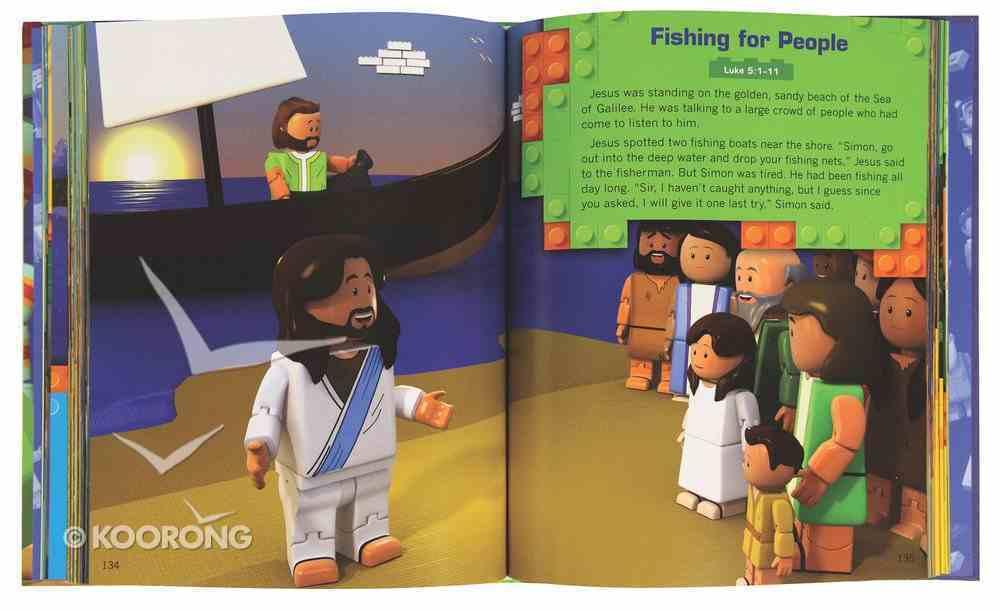 Brick Builder's Illustrated Bible: Over 35 Bible Stories For Kids Hardback