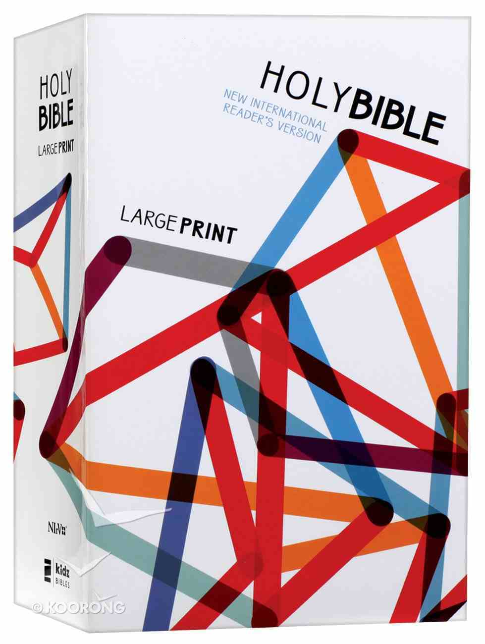 NIRV Outreach Large Print Bible For Kids (Black Letter Edition) Paperback