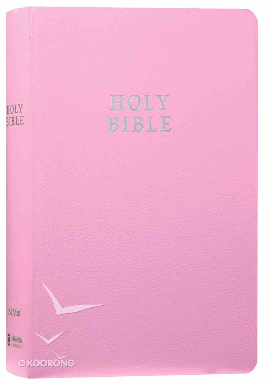 NIV Gift and Award Bible For Kids Pink (Red Letter Edition) Imitation Leather
