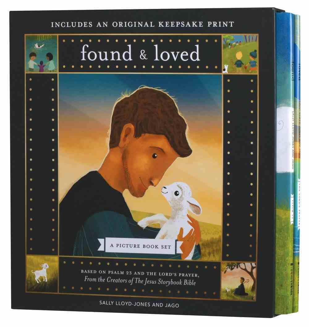 Found and Loved: A Picture Book Set (With Keepsake Print) Hardback