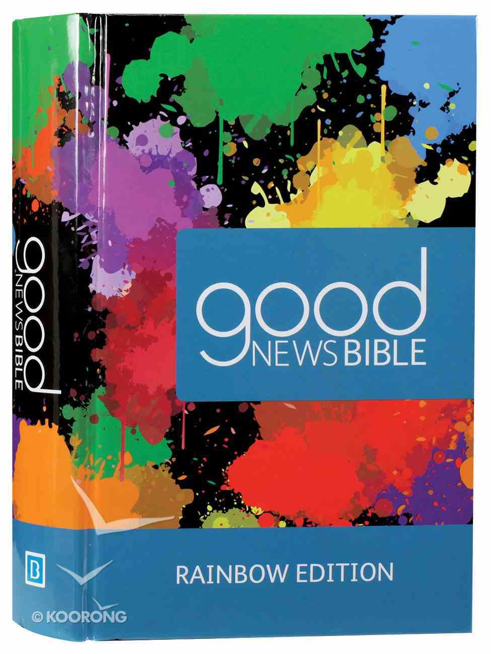 GNB Good News Bible Rainbow (Anglicised) Hardback