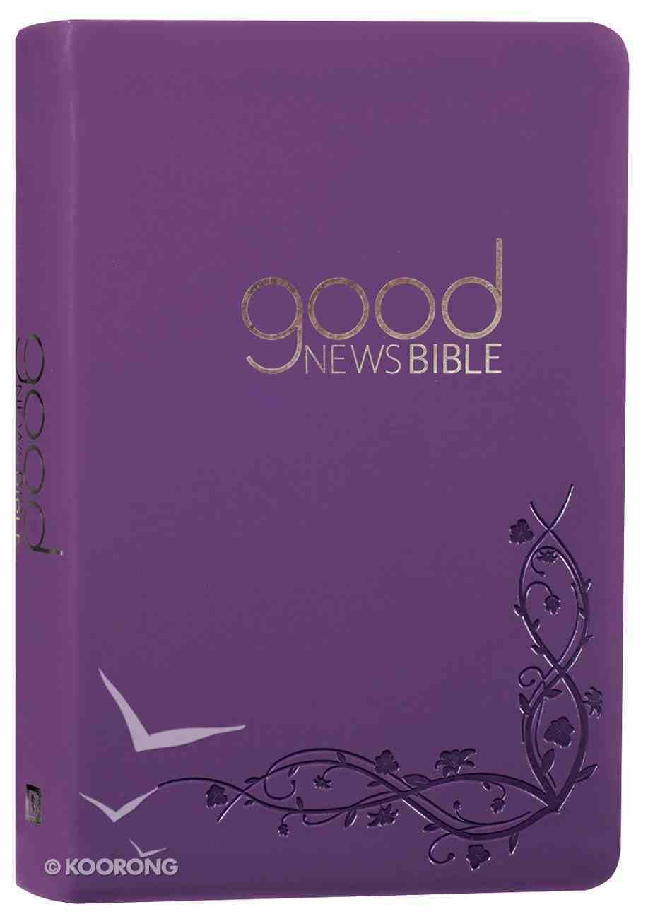 GNB Good News Bible Purple (Anglicised) Imitation Leather