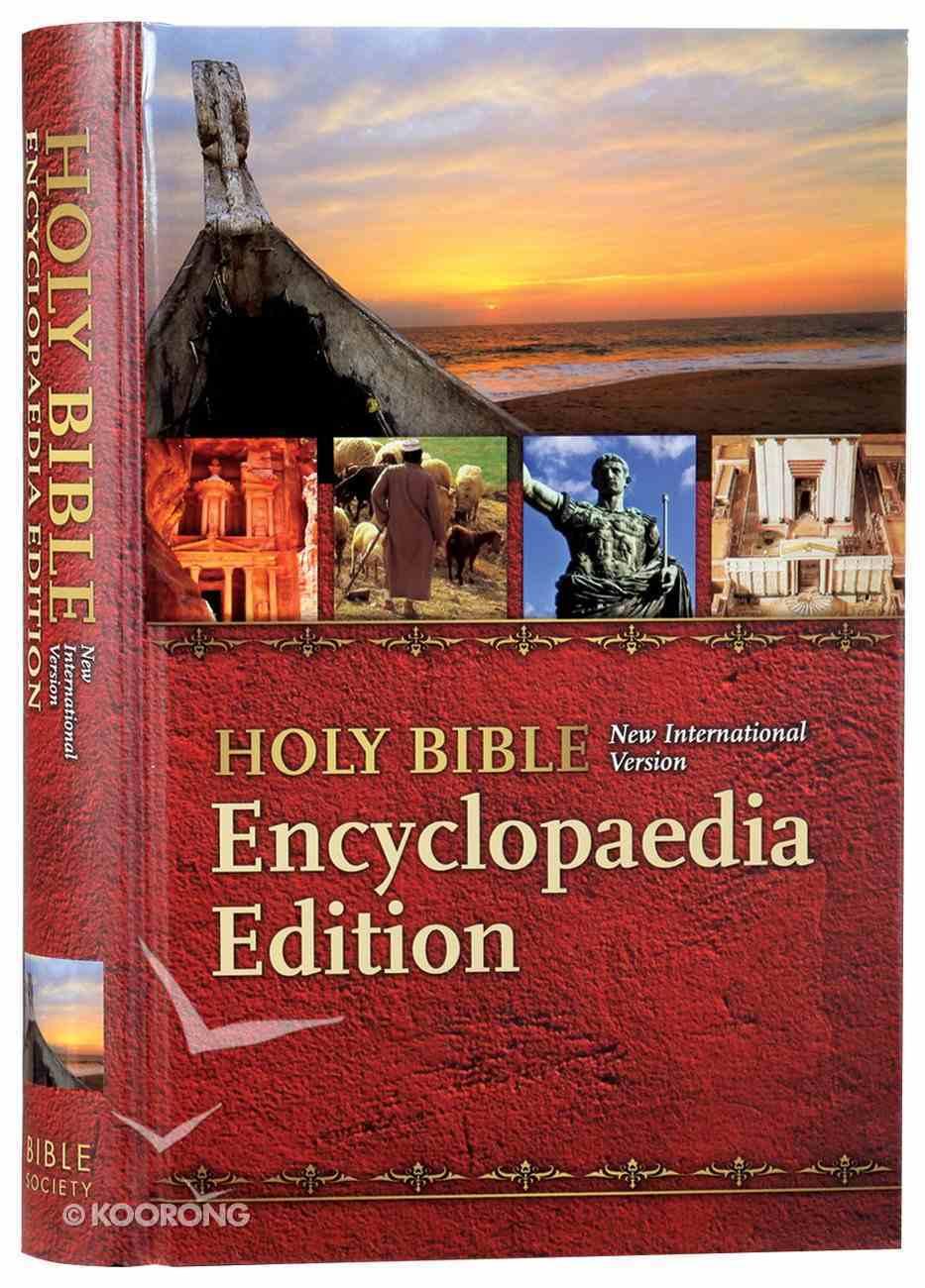 NIV Thinline Bible Encyclopaedia Schools Hardback