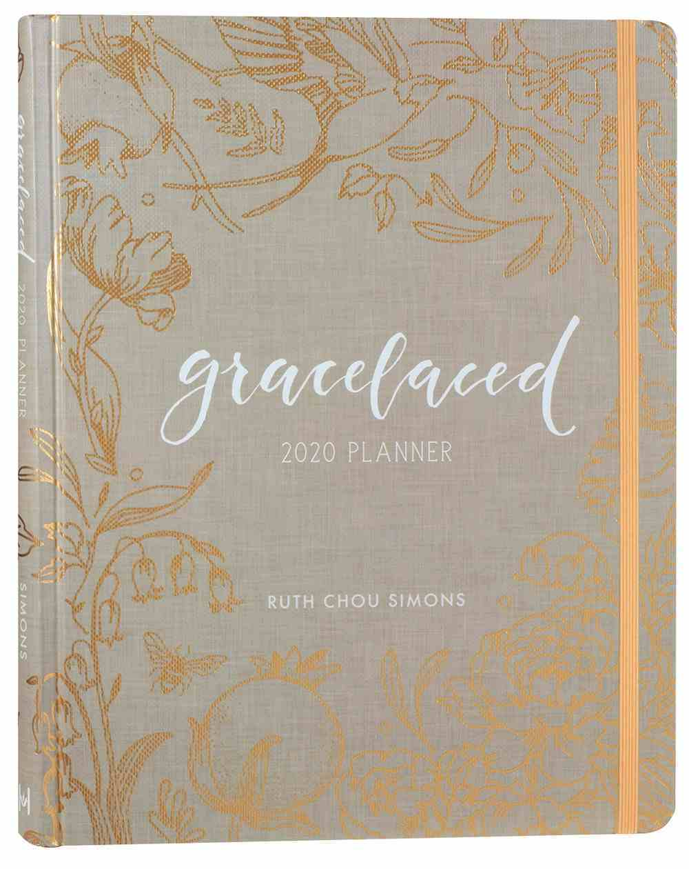 2020 12-Month Diary/Planner: Gracelaced Hardback