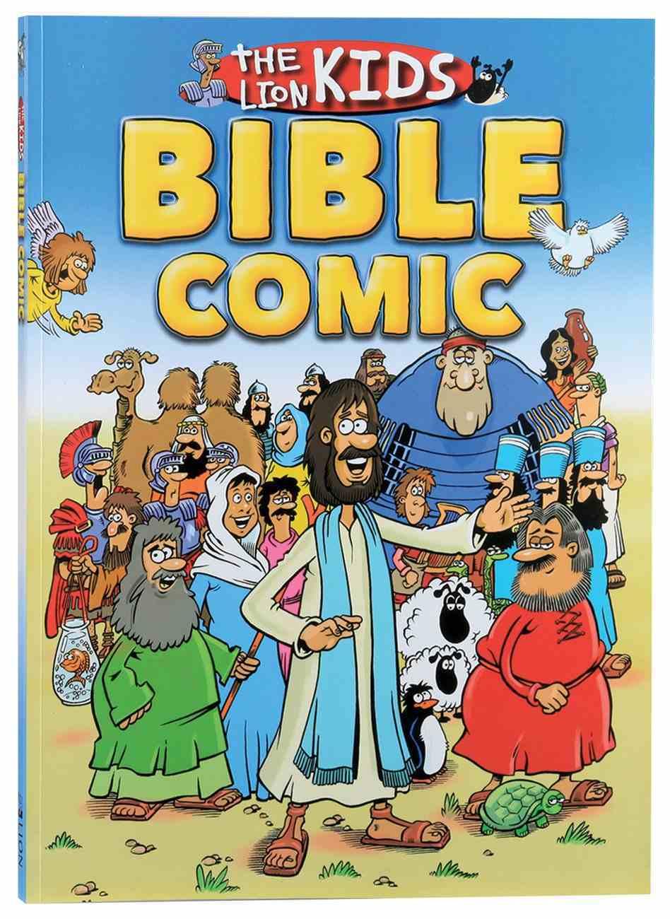 The Lion Kids Bible Comic Paperback