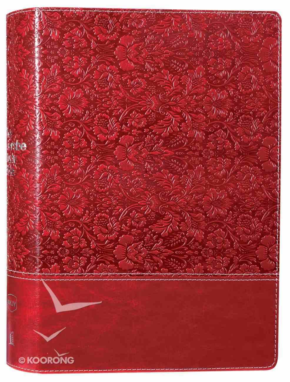 NKJV Wiersbe Study Bible Burgundy Premium Imitation Leather