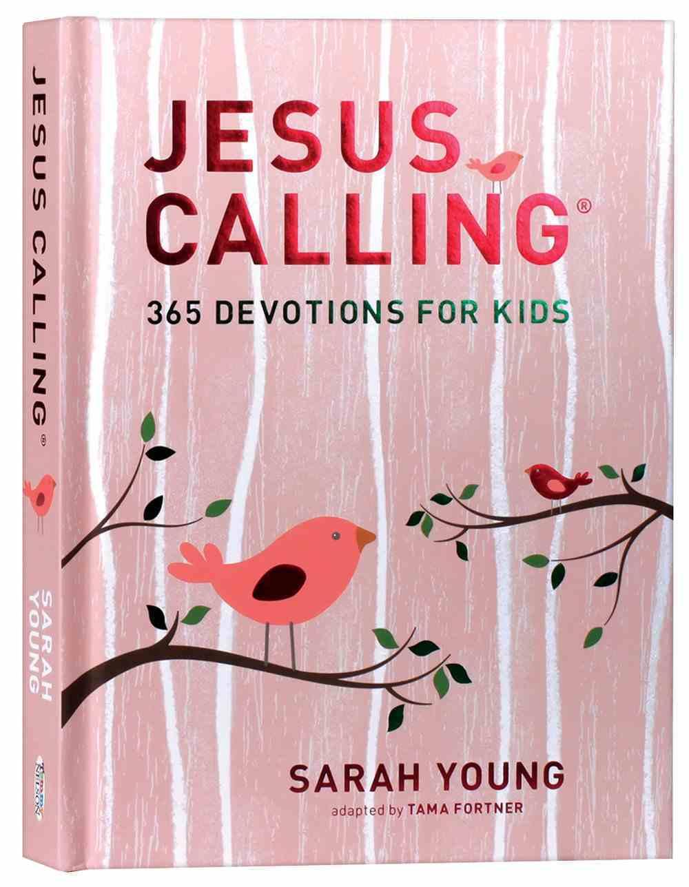 Jesus Calling: 365 Devotions For Kids (Girls Edition) Hardback