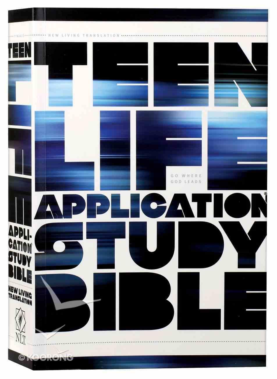 NLT Teen Life Application Study (Black Letter Edition) Paperback