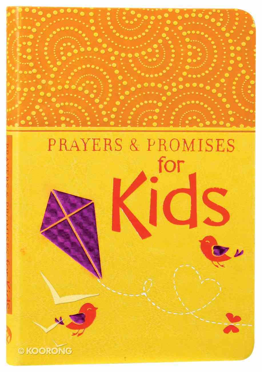 Prayers & Promises For Kids Imitation Leather