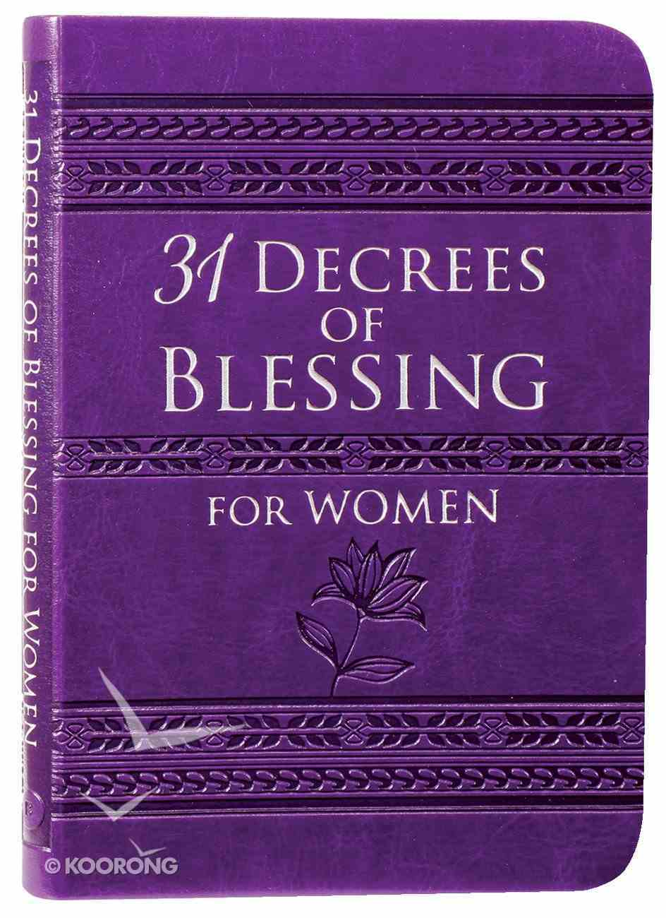 31 Decrees of Blessing For Women Imitation Leather