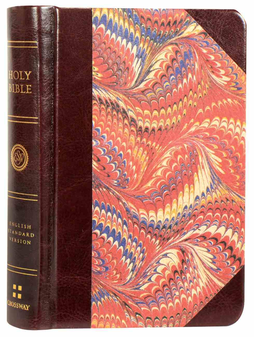 ESV Compact Bible Classic Marbled (Black Letter Edition) Hardback