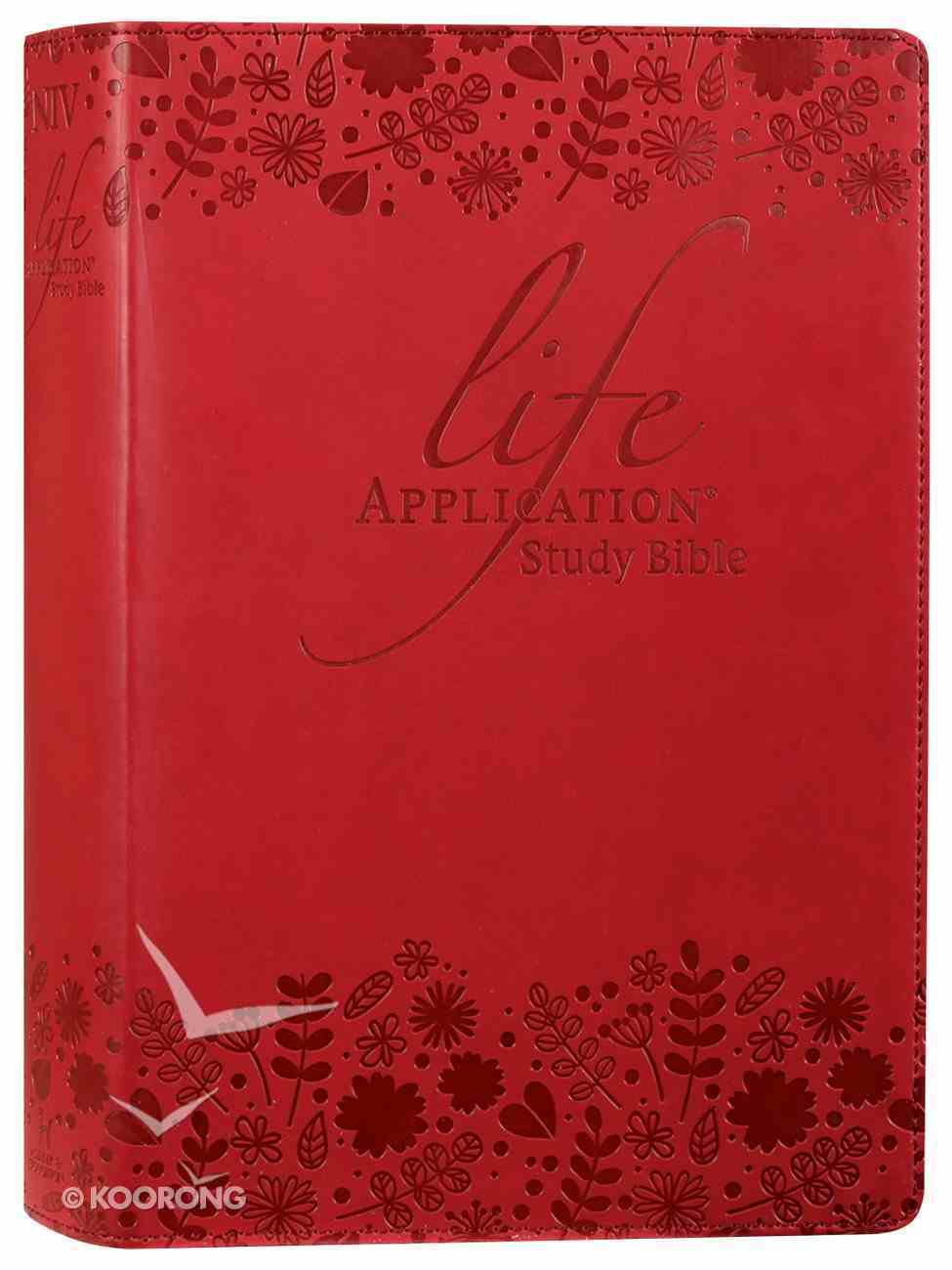 NIV Life Application Study Bible Anglicised Soft Tone Flexi Back