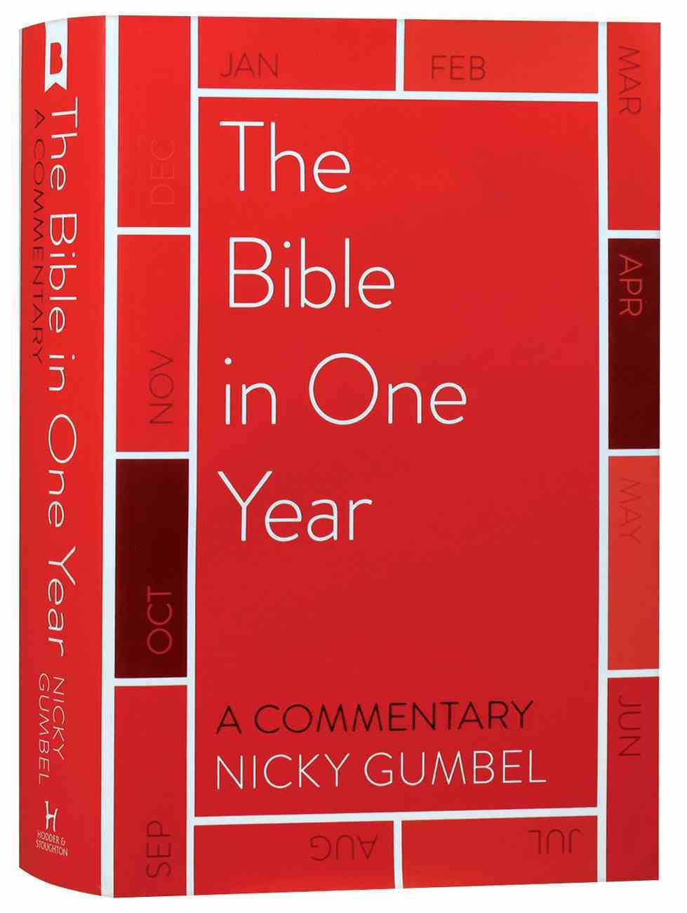 NIV Bible in One Year Commentary By Nicky Gumbel Hardback