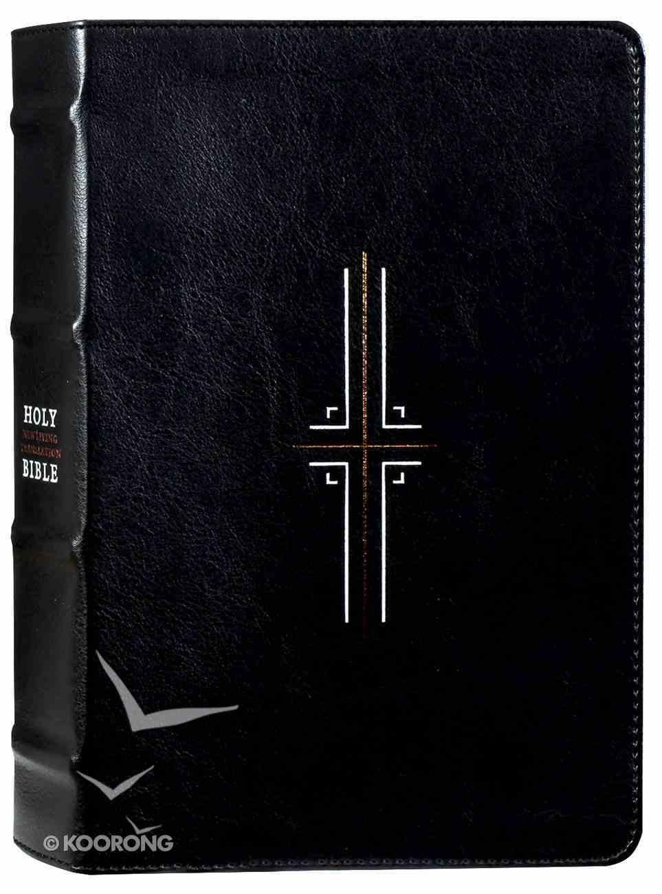 NLT Filament Bible Black (Black Letter Edition) (The Print+digital Bible) Imitation Leather