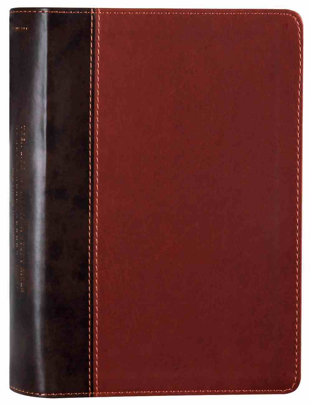 NLT Teen Life Application Study Bible Brown (Black Letter Edition) Imitation Leather