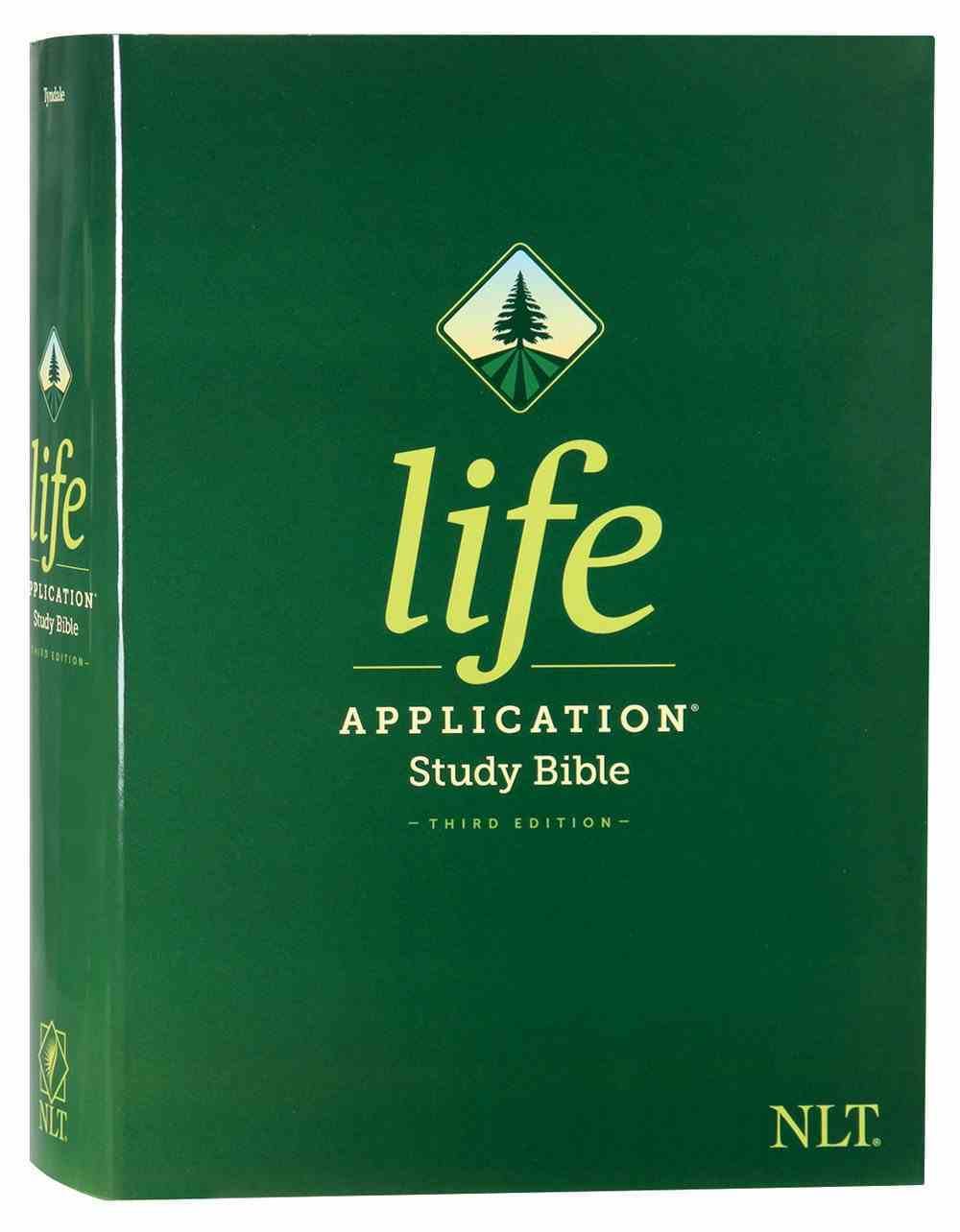 NLT Life Application Study Bible 3rd Edition (Red Letter Edition) Hardback
