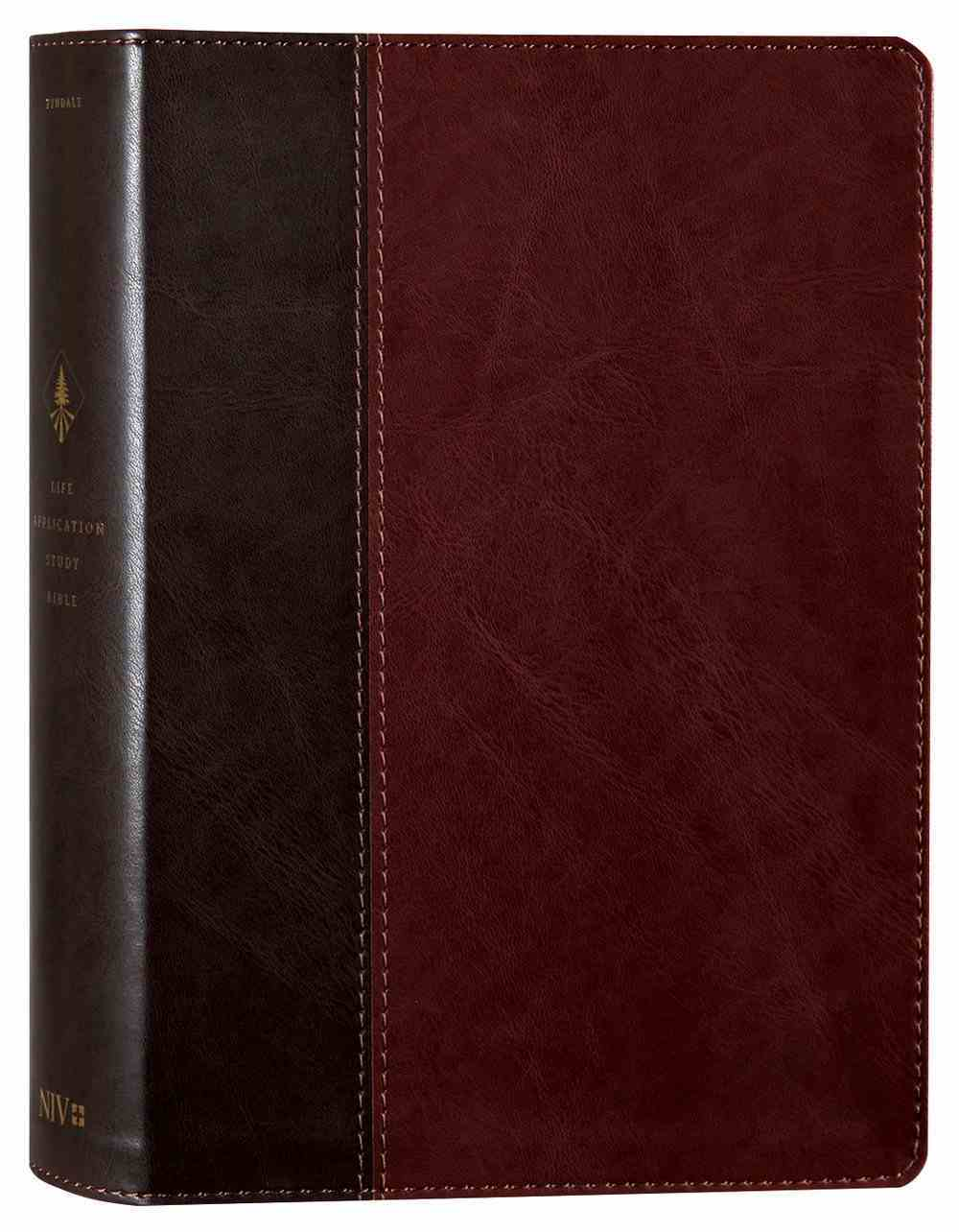 NIV Life Application Study Bible 3rd Edition Brown/Tan (Black Letter Edition) Imitation Leather
