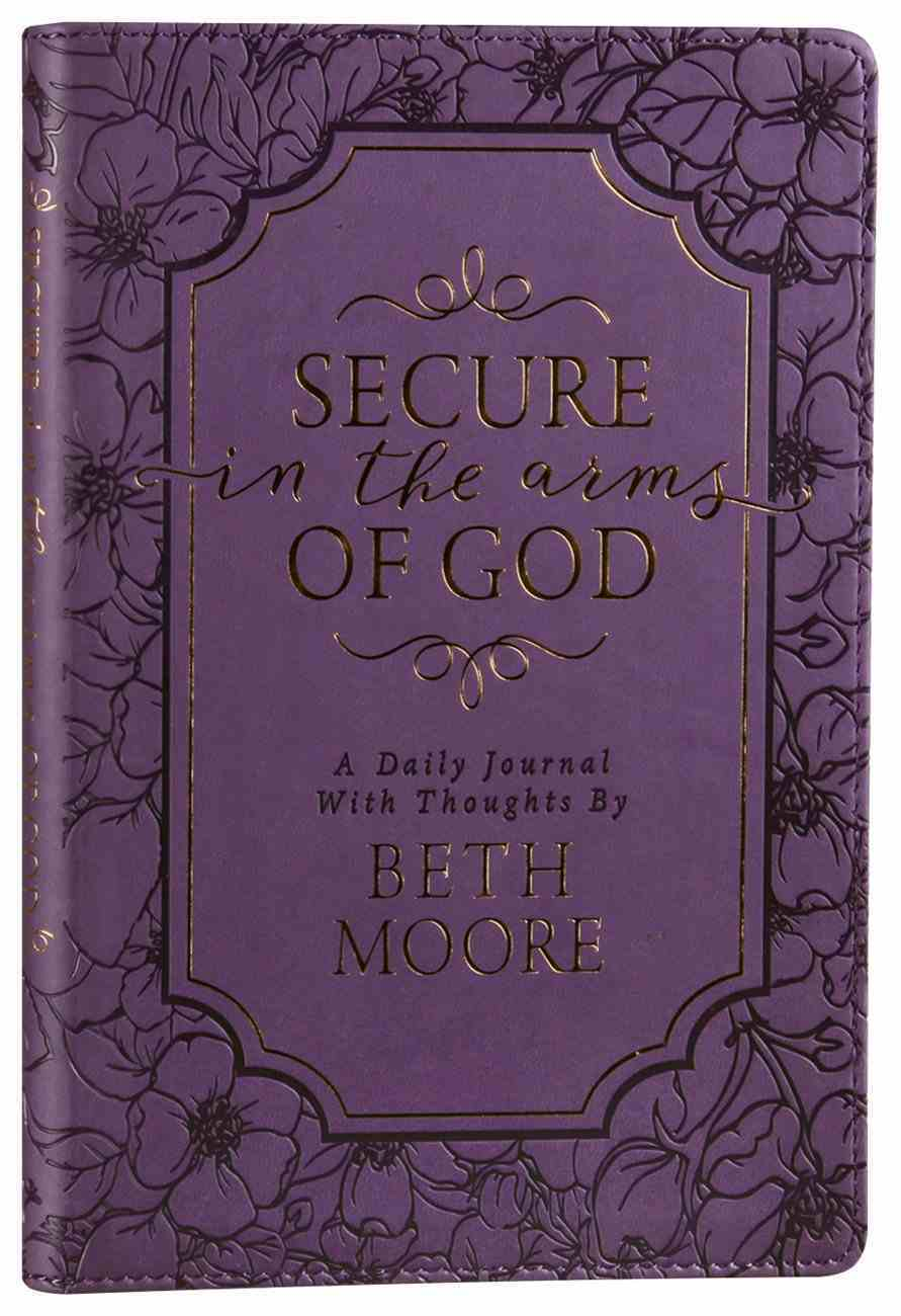 Secure in the Arms of God: Daily Devotional Journal Imitation Leather