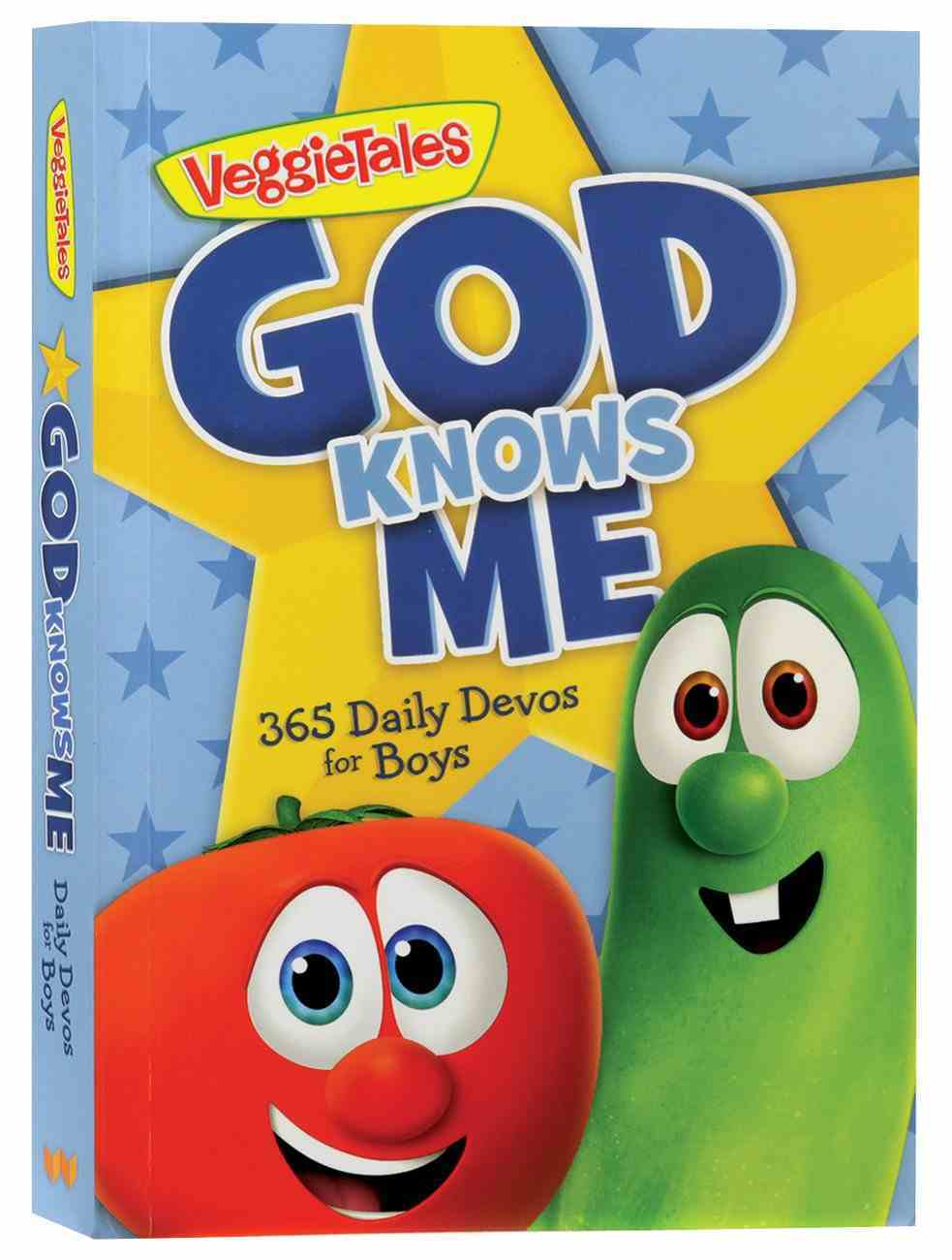 God Knows Me: 365 Daily Devos For Boys (Veggie Tales (Veggietales) Series) Paperback