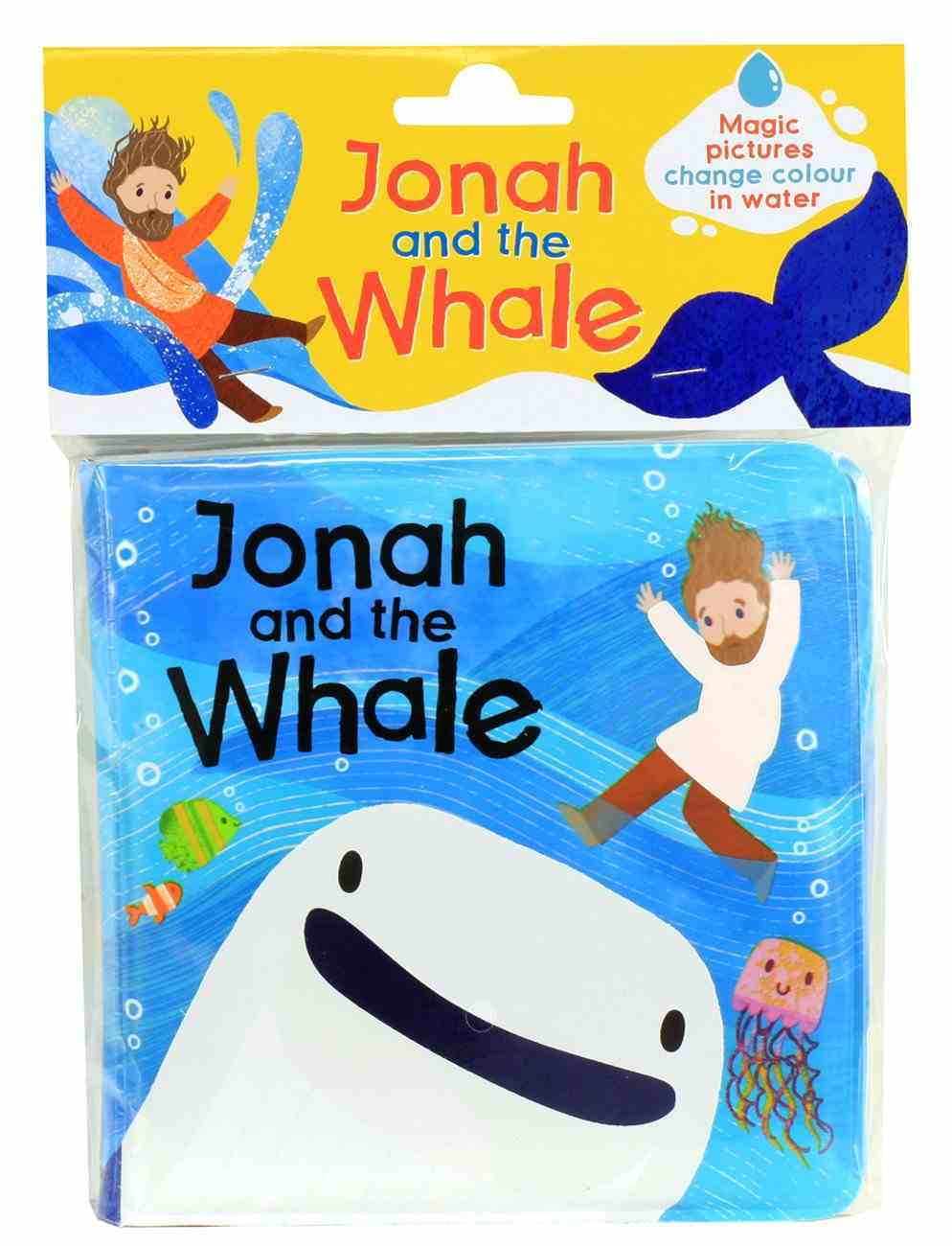 Magic Bible Bath Book: Jonah and the Whale Novelty Book