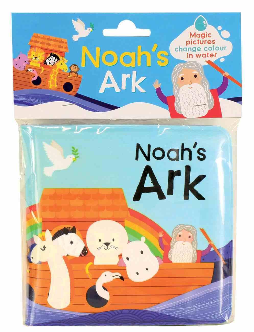 Magic Bible Bath Book: Noah's Ark Novelty Book