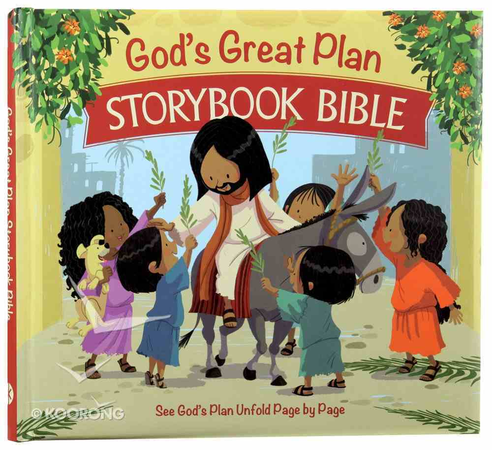 God's Great Plan Storybook Bible Hardback
