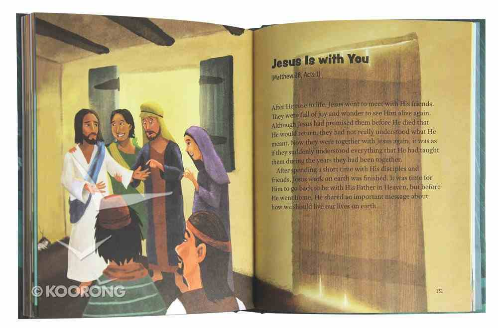 The Bible Storybook For Starters: 30 Devotional Bible Stories Padded Hardback