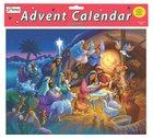 Advent Calendar: Heavenly Night Manger Scene, Glitter Calendar