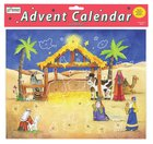Advent Calendar With Stickers: Starlit Stable Calendar