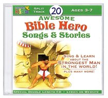 Album Image for 20 Awesome Bible Hero Songs & Stories - DISC 1