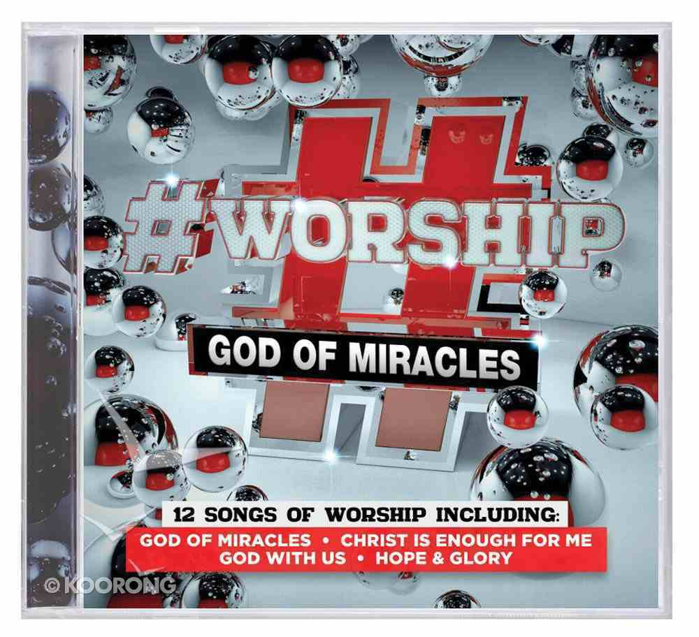 #Worship: God of Miracles CD