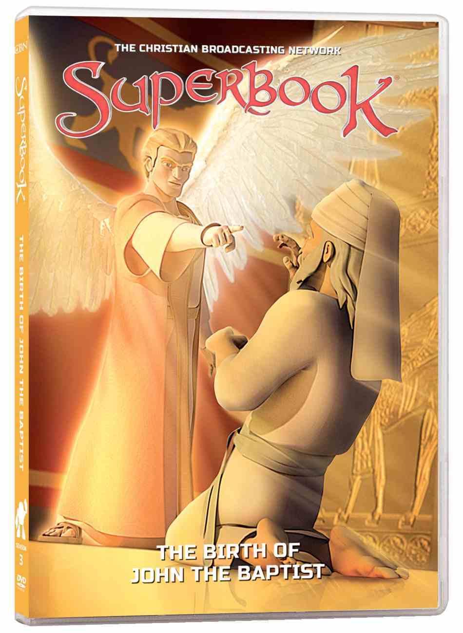 Birth of John the Baptist (#03 in Superbook Dvd Series Season 3) DVD