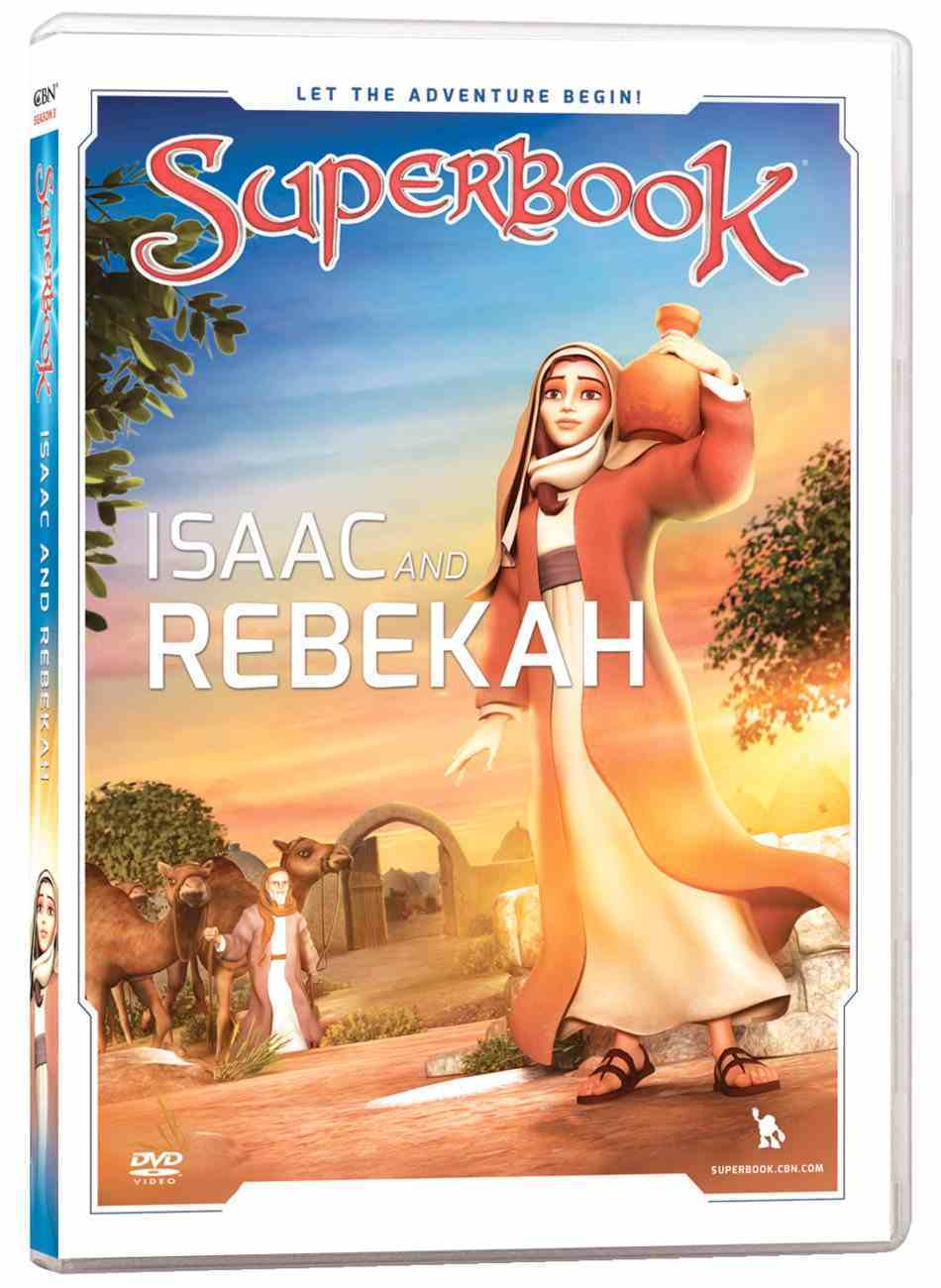 Isaac and Rebekah (#04 in Superbook Dvd Series Season 3) DVD