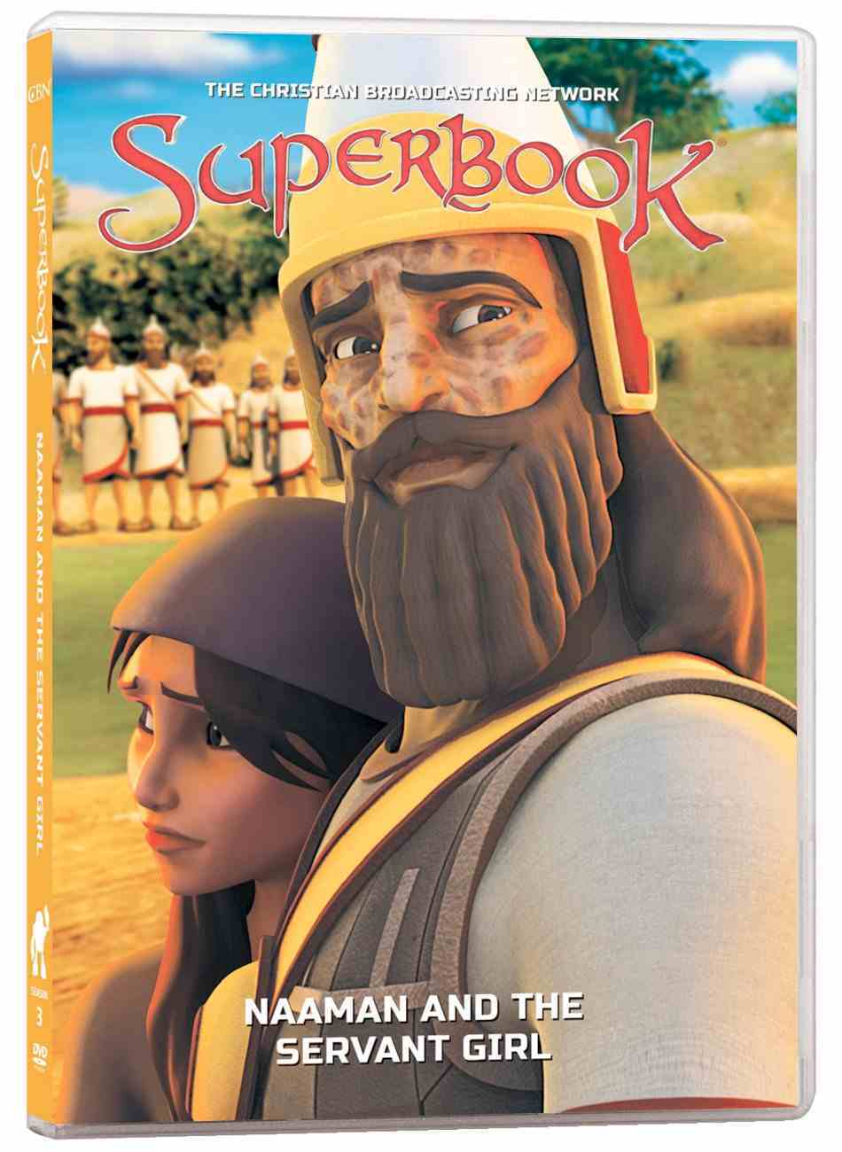 Naaman and the Servant Girl (#05 in Superbook Dvd Series Season 3) DVD
