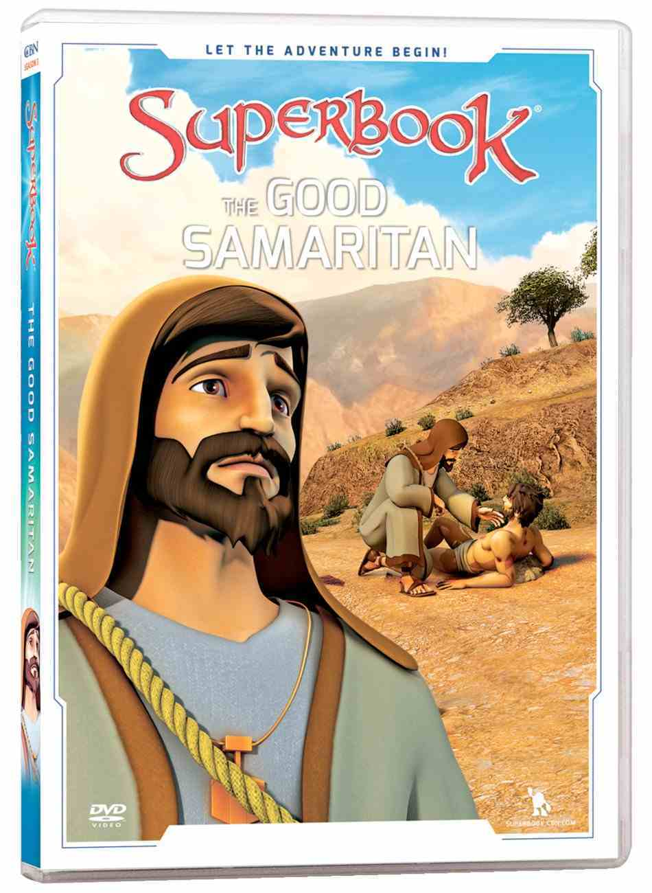 The Good Samaritan (#13 in Superbook Dvd Series Season 3) DVD