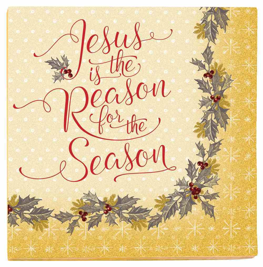Christmas Napkins: Jesus is the Reason For the Season Homeware